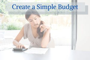 Create a Simple Budget